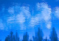 &quot;BOW RIVER IMPRESSIONISM IN BLUE&quot;<br />