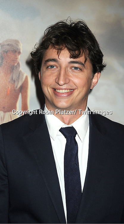 """Ben Zeillin of THe Beast of the Southern Wild attends the 50th Annual New York Film Festival Opening Night Gala presentation of """"Life of Pi"""" starring Suraj Sharma and directored by Ang Lee on September 28, 2012 in New York City. The screening was at Alice Tully Hall at Lincoln Center."""