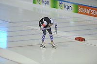 SCHAATSEN: HEERENVEEN: IJsstadion Thialf, 27-12-2015, KPN NK Afstanden, 1500m Dames, Sanne van der Schaar, ©foto Martin de Jong