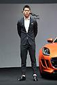 Kei Nishikori at Jaguar Ambassador press conference
