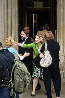 Audience arriving for a concert in Winchester Cathedral.??Winchester Festival photos, done as part of the Winchester City Council Festivals Photography Project - five photographers invited to shoot one of five cultural events during the summer with a group show of the photos scheduled for 2010.??Location:?Winchester Cathedral??Contact:?Ellen Simpson?01962 848 219?ESimpson@winchester.gov.uk??John Miller - ?07968 104951?01962 732410?jonail.miller@tiscali.co.uk??Date Taken: 10/07/09???Client: Winchester Tourism Dept, Ellen Simpson?Ellen Simpson.Tourism Marketing and Development Manager.Winchester City Council.City Offices.Colebrook Street.WINCHESTER.Hants  SO23 9LJ. .Tel 01962 848 219.Fax 01962 848 427. .www.winchester.gov.uk.www.visitwinchester.co.uk.www.winchestermuseumcollections.org.uk