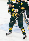 Anders Franzon (UVM - 27) - The Boston College Eagles defeated the University of Vermont Catamounts 4-1 on Friday, February 1, 2013, at Kelley Rink in Conte Forum in Chestnut Hill, Massachusetts.
