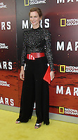 NEW YORK, NY-October 26: Cosima Shaw at National Geographic Channel presents the Epic Six-Part Event Series MARS premiere at the School of Visual Arts  in New York.October 26, 2016. Credit:RW/MediaPunch