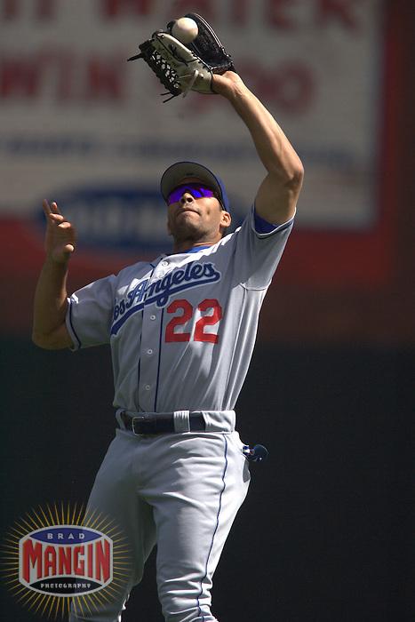 Jose Cruz Jr. Los Angeles Dodgers vs San Francisco Giants. San Francisco, CA 9/17/2005 MANDATORY CREDIT: Brad Mangin