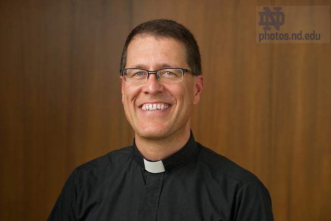 Rev. Paul Kollman, C.S.C., interim director of the Center for Social Concerns...Photo by Matt Cashore/University of Notre Dame