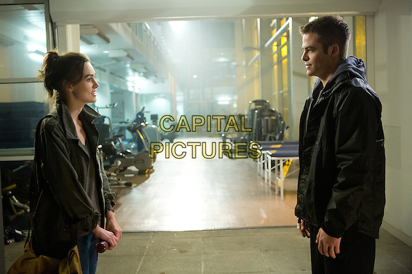 Keira Knightley &amp; Chris Pine<br /> in Jack Ryan: Shadow Recruit (2014) <br /> *Filmstill - Editorial Use Only*<br /> CAP/FB<br /> Image supplied by Capital Pictures