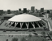 UNDATED..Redevelopment..Downtown North (R-8)..Scope Convention Center.Looking South...NEG#..