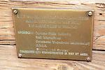 Plaque Explaining Cannons