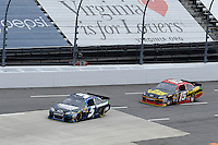 30 March - 1 April, 2012, Martinsville, Virginia USA.Kasey Kahne, Clint Bowyer.(c)2012, Scott LePage.LAT Photo USA