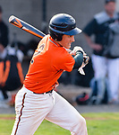 PLYMOUTH, CT-042017JS08- Terryville's (2) rips an RBI single during their game against Watertown during their game Thursday at Terryville High School in Plymouth. <br /> Jim Shannon Republican-American