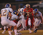 Lafayette High's Demarkous Dennis (5) runs 46 yards for a touchdown vs. Oxford at William L. Buford Stadium in Oxford, Miss. on Friday, September 2, 2011. Lafayette won 40-12