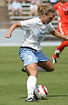 24 September 2006: UNC's Whitney Engen. The University of North Carolina Tarheels defeated the University of Miami Hurricanes 6-1 at Fetzer Field in Chapel Hill, North Carolina in an NCAA Division I women's soccer game.