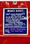 May 24, 2010. Raleigh, North Carolina.. Mom's Delicious Dishes, now located at 2929 Capitol Blvd. in Raleigh, serves up a variety of comfort foods from around the world.. The Triangle has seen a recent boom in the number of mobile food trucks selling everything from tacos, to Korean BBQ, to fresh juices.