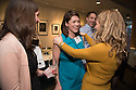 Hannah Foote, left, Christa Zehle, M.D., right. Class of 2013 dinner.