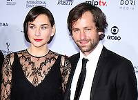 NEW YORK, NY November 21:Christiane Paul, Florian Stetter at 2016 International Emmy Awards  at the New York Hilton in New York City.November 21, 2016. Credit:RW/MediaPunch