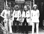 Mott The Hoople 1973 Mick Ralphs, Ian Hunter, Dale Griffen, Overend Pete Watts.© Chris Walter.