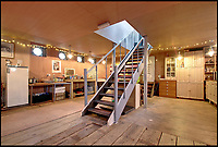 BNPS.co.uk (01202 558833)<br /> Pic: PERWestray/BNPS<br /> <br /> This quirky houseboat would be the perfect property for anyone looking to test out their sea legs as long as they love DIY - as it will take some work to get the home ship-shape.<br /> <br /> Current owner Fleur Levene has spent two years and more than &pound;100,000 to convert the former steam ship into a practical home with heating, electricity and hot water.<br /> <br /> But she says the SS Davenham's new owner will have to continue her labour of love as the exterior of the ship still needs a lot of work.<br /> <br /> The boat, which is currently moored on the River Medway at Cuxton, Kent, is on the market with PER Westray for &pound;150,000.