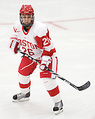 Anya Battaglino (BU - 26) is one of five Massachusetts-natives on the Terriers this season. - The Boston University Terriers defeated the visiting University of Windsor Lancers 4-1 in a Saturday afternoon, September 25, 2010, exhibition game at Walter Brown Arena in Boston, MA.
