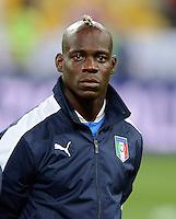 FUSSBALL  EUROPAMEISTERSCHAFT 2012   VIERTELFINALE England - Italien                     24.06.2012 Mario Balotelli (Italien)