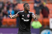 Washington, DC - March 29, 2014: D. C. United tied the Chicago Fire 2-2 during their Major League Soccer (MLS) match at RFK Stadium.