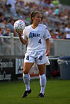 4 July 2003: Kylie Bivens. The Carolina Courage defeated the Atlanta Beat 3-2 at SAS Stadium in Cary, NC in a regular season WUSA game..Mandatory Credit: Andy Mead/Icon SMI