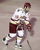 Joe Whitney (BC - 15) is announced as an Eagles starter. - The Boston College Eagles defeated the visiting Boston University Terriers 5-2 on Saturday, December 4, 2010, at Conte Forum in Chestnut Hill, Massachusetts.