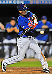 5 March 2012: New York Mets infielder Ronny Cedeno in action during a Spring Training game against the Washington Nationals at Digital Domain Park in Port St. Lucie, Florida. The Nationals defeated the Mets 3-1 in Grapefruit League play. Mandatory Credit: Ed Wolfstein Photo