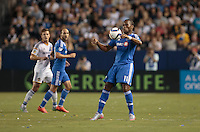 Donny TCARSON, Calif. - Saturday, September 12, 2015: The Los Angeles Galaxy and Montreal Impact played to a scoreless draw during Major League Soccer (MLS) play at StubHub Center stadium.