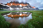 The Ramparts, Tonquin Valley, Jasper National Pakr, Alberta, Canada