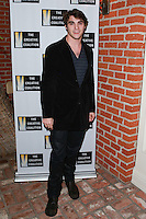 LOS ANGELES, CA, USA - OCTOBER 21: RJ Mitte arrives at The Creative Coalition's 'Art of Discovery' Los Angeles Launch Party held at the Home of Lawrence Bender on October 21, 2014 in Los Angeles, California, United States. (Photo by David Acosta/Celebrity Monitor)
