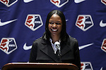 17 January 2014: Maya Hayes was selected with the sixth overall pick by Sky Blue FC. The 2014 National Women's Soccer League Draft was held at the NSCAA Annual Convention in the Pennsylvania Convention Center in Philadelphia, Pennsylvania.