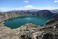 Lago Quilotoa and Chugchilan, Ecuador