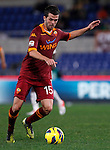 Calcio, Serie A: AS Roma vs Torino. Roma, stadio Olimpico, 19 novembre 2012..AS Roma midfielder Miralem Pjanic, of Bosnia, in action during the Italian Serie A football match between AS Roma and Torino at Rome's Olympic stadium, 19 November 2012..UPDATE IMAGES PRESS/Isabella Bonotto