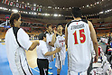 Takumi Ishizaki and team group (JPN), SEPTEMBER 19, 2011 - Basketball : 26th FIBA Asia Championship Second Group F match between Japan 101-61 UAE at Wuhan Sports Center in Wuhan, China. (Photo by Yoshio Kato/AFLO)