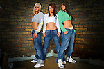 Portrait of girlband true envy