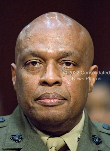 Lieutenant General Vincent Stewart, Director of the Defense Intelligence Agency (DIA) testifies during the United States Senate Select Committee on Intelligence hearing titled &quot;Worldwide Threats&quot; on Capitol Hill in Washington, DC on Thursday, May 11, 2017.  <br /> Credit: Ron Sachs / CNP<br /> (RESTRICTION: NO New York or New Jersey Newspapers or newspapers within a 75 mile radius of New York City)