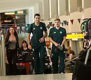 24.08.2015 Celtic leave for Malmo