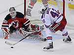 March 25, 2010: New York Rangers at New Jersey Devils