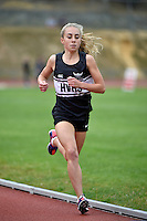 Action from the Athletics - Hutt Zone Championships at Newtown Park, Wellington, New Zealand on Wednesday 11 March 2015. <br /> Photo by Masanori Udagawa. <br /> www.photowellington.photoshelter.com.