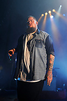 LONDON, ENGLAND - APRIL 19: Rag 'n' Bone Man (Rory Graham) performing at Shepherd's Bush Empire on April 19, 2017 in London, England.<br /> CAP/MAR<br /> &copy;MAR/Capital Pictures