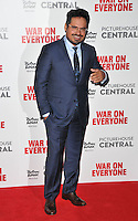 Michael Pena at the &quot;War On Everyone&quot; UK film premiere, Picturehouse Central, Corner of Shaftesbury Avenue and Great Windmill Street, London, England, UK, on Thursday 29 September 2016.<br /> CAP/CAN<br /> &copy;CAN/Capital Pictures /MediaPunch ***NORTH AND SOUTH AMERICAS ONLY***