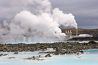 Blue Lagoon Geothermal Power Plant, Iceland