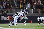Ole Miss wide receiver Ja-Mes Logan (85) vs. Vanderbilt safety Javon Marshall (31) at Vaught-Hemingway Stadium in Oxford, Miss. on Saturday, November 10, 2012. (AP Photo/Oxford Eagle, Bruce Newman)