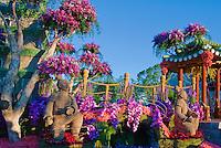 Terra Cotta Warrior, Shaanxi, Province, China, rose parade, float, Pasadena, CA