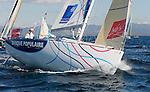 Depart de la WOW Cap Istanbul..Banque Populaire 40.Jeanne Gregoire
