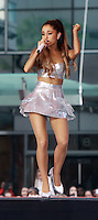 AUG 28 Ariana Grande on NBC's Today Show Concert Series