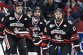 - The visiting Northeastern University Huskies defeated the Boston University Terriers 6-5 on Friday, January 18, 2013, at Agganis Arena in Boston, Massachusetts.