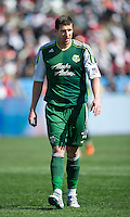 26 March 2011: Portland Timbers forward Kenny Cooper #33 in action during an MLS game between the Portland Timbers and the Toronto FC at BMO Field in Toronto, Ontario Canada..Toronto FC won 2-0....