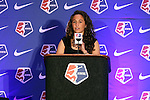 16 January 2015: Danielle Colaprico (Virginia) was selected with the ninth overall pick by the Chicago Red Stars. The National Women's Soccer League Draft was held at the Pennsylvania Convention Center in Philadelphia, Pennsylvania.
