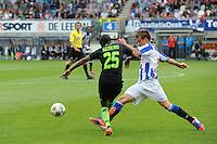 VOETBAL: HEERENVEEN: Abe Lenstra Stadion, 02-09-2012, Eredivisie 2012-2013, SC Heerenveen - Ajax, Eindstand 2-2,.Sereno Ajax (25) Lukas Marecek SC Heerenveen.Copyright Martin de Jong